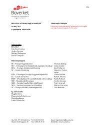 I enlighet med Haverikommissionens rekommendationer har Boverket: