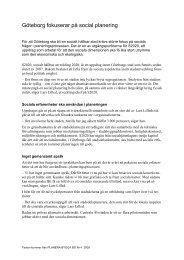 Göteborg fokuserar på social planering - Boverket