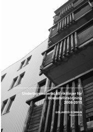 Underlagsmaterial till riktlinjer för bostadsförsörjning ... - Boverket