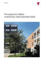 Förnyelse för hållbar utveckling i olika boendemiljöer - Boverket