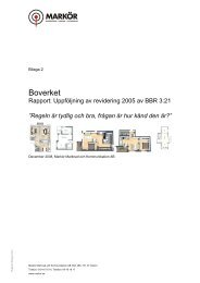 Bilaga 2: Rapport (kvalitativ undersökning) - Boverket