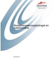 Du kan ladda ner hela webbhandboken - Boverket
