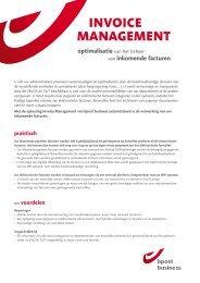 invoice management - De Post