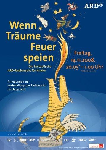Wenn Träume Feuer speien - Bayerischer Rundfunk
