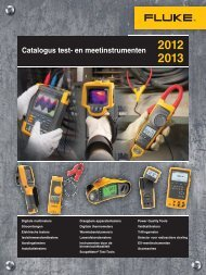 Fluke catalogus 2012-2013 deel II - Brammer