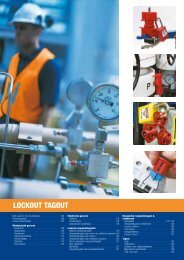 Brady Lockout Tagout catalogus (3.56MB) - Brammer