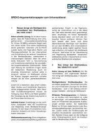 BREKO-Argumentationspapier zum Universaldienst