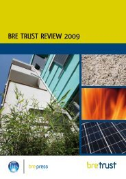 BRE tRuSt REvIEw 2009
