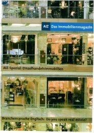 AIZ Das Immobilienmagazin - Brockhoff & Partner Immobilien GmbH
