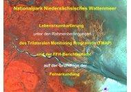 Nationalpark Niedersächsisches Wattenmeer - Brockmann Consult