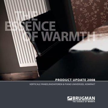 Product Update Nederland 2 - Brugman Radiatoren B.V.