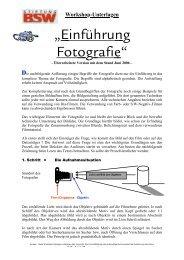 Einführung in die Fotografie (2.6 MB) - Bsw-bba-foto-film-hamburg.de