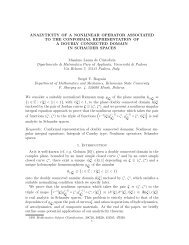 analyticity of a nonlinear operator associated to the conformal ...