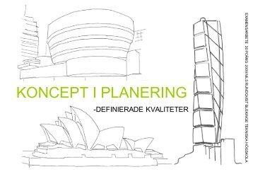 koncept i planering_del_i.pdf - Blekinge Tekniska Högskola