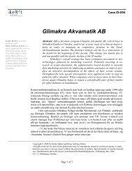 Glimakra Akvamatik AB - DiVA
