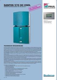 Technische Daten Santos 570 DC cool - Buderus