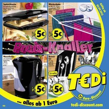 TEDi - Preis-Knaller - 02.09.2013 - DE