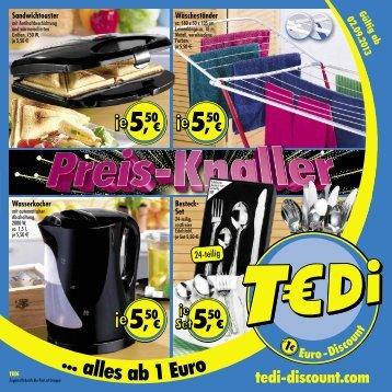 TEDi - Preis-Knaller - 02.09.2013 - AT