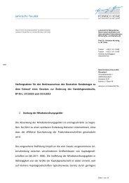 Stellungnahme Prof. Dr. Christian Kersting, LL.M. - Deutscher ...