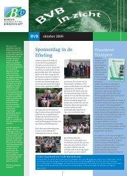 BVB In zicht 2009 - Bureau Voorlichting Binnenvaart