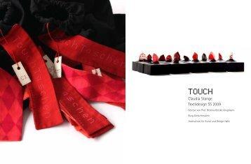 Claudia Stange Textildesign SS 2009 - Burg Giebichenstein