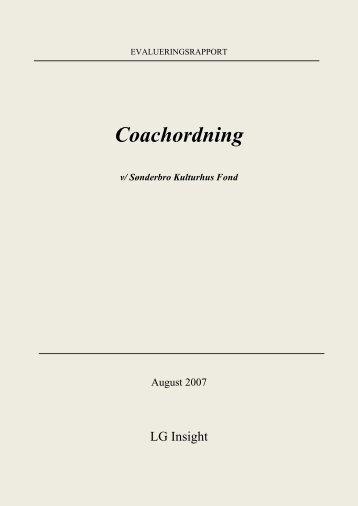 evaluering af coachingen i PDF-format - Cabi