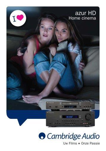 AP26520 azur HD NL.qxd:Azur HD 8PP - Cambridge Audio