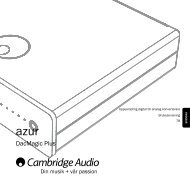 DacMagic Plus - Cambridge Audio