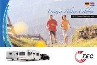 T.E.C. Caravan Wohnmobile 2011 - Campingferie.dk