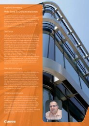 Case Study Engel Austria GmbH, Schwertberg [PDF, 297 KB] - Canon