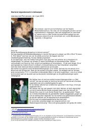 1 Startend migrantenwerk in Antwerpen interview met Piet Janssen ...
