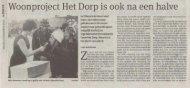 Woonproject Het Dorp is ook na een halve eeuw zijn magie nog niet ...