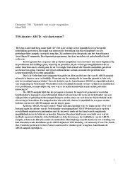 ABCD - Wie doet ermee? - Canon Sociaal Werk