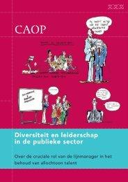Diversiteit en leiderschap in de publieke sector - CAOP