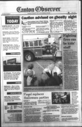 Canton Observer for October 27, 1994 - Canton Public Library