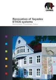 Renovation of façades ETICS systems - Caparol