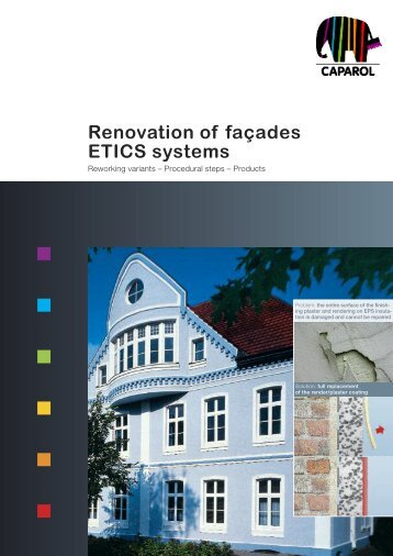 Renovation of façades ETICS systems - Caparol
