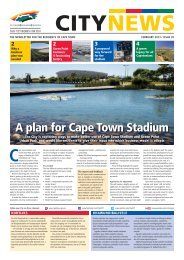 Issue #39 - February 2013 - City of Cape Town