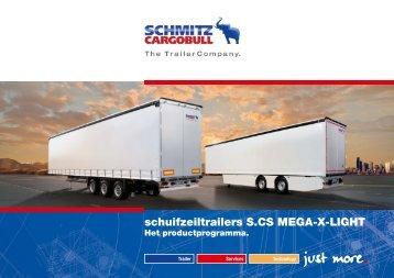 schuifzeiltrailers S.CS MEGA-X-LIGHT - Schmitz Cargobull AG
