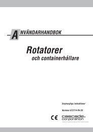 Rotatorer - Cascade Corporation