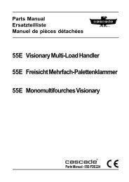 55E Visionary Multi-Load Handler 55E Freisicht Mehrfach ...
