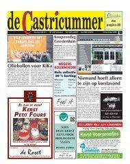 Oliebollen voor KiKa - De Castricummer