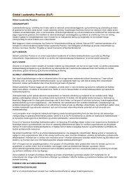 Global Leadership Practice (GLP) | CBS - Copenhagen Business ...