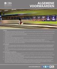 ALGEMENE VOORWAARDEN - CBS Outdoor