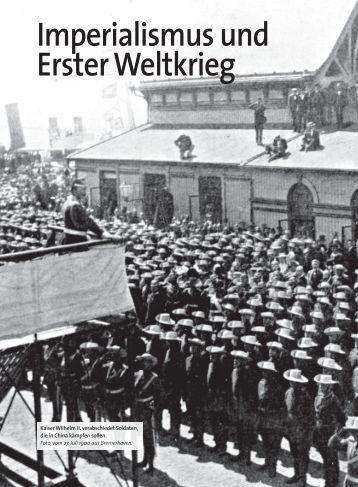 Imperialismus und Erster Weltkrieg - C.C. Buchner