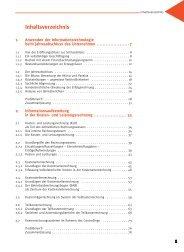 Inhaltsverzeichnis - C.C. Buchner