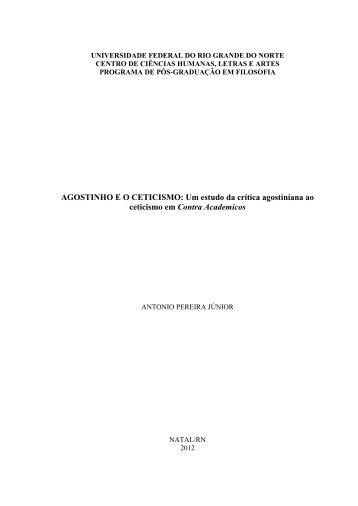 dissertação na íntegra - CCHLA/UFRN