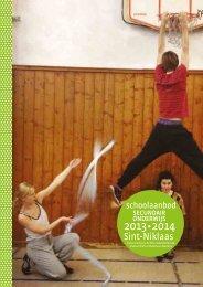 brochure Middelbare School 13-14 - CC Sint-Niklaas