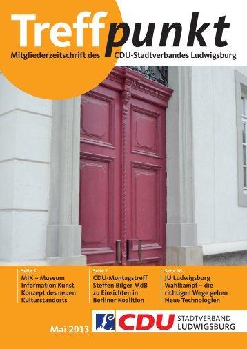 Download Ausgabe 05/2013 - CDU Ludwigsburg