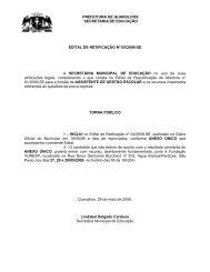 Retificação nº 05/2008-SE - Central de Concursos